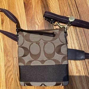 Long-Strapped Coach Purse